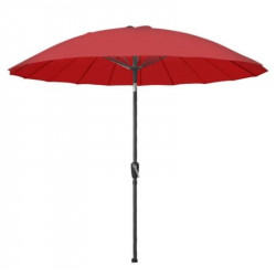 Parasol inclinable jardin - rouge